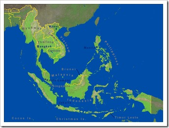 Map - Southeast Asia (Large)
