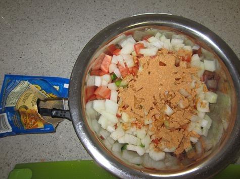 mexican enchilada pizza 111