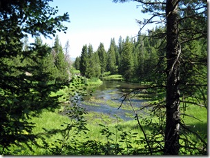 Big Springs, ID, primary source for the Henry's Fork of the Snake River