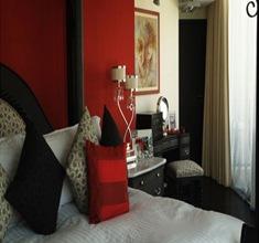 pintura-roja-en-paredes-decoracion