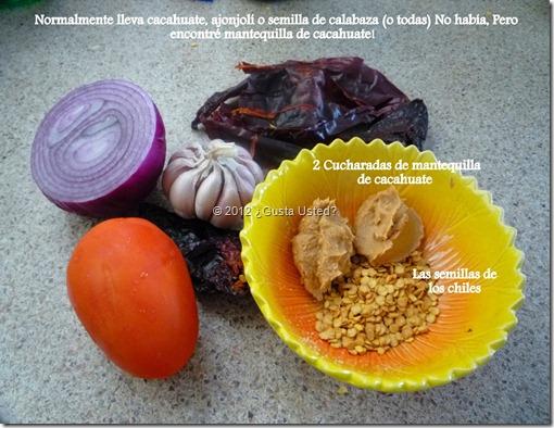 No haba ajonjol, ni cacahuate, ni semillita.  Encontr Mantequilla de cacahuate!