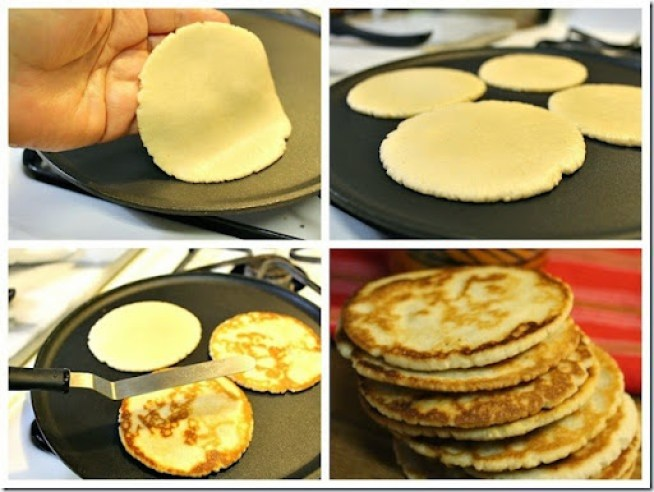 gorditas de harina dulces, how to make Griddle Cookies