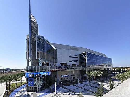 清清的世界旅行圖鑑: 美國佛羅里達州奧蘭多 安麗中心球場 (Amway center)
