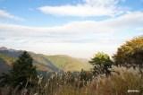 丹沢大山の見晴らし台からの景色