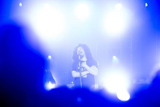 Counting Crows in Salt Lake City, 2012.