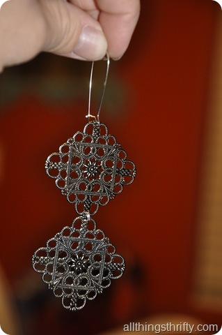 Long Medallion Earrings