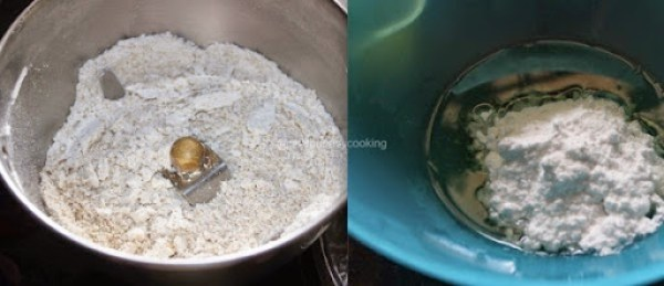 Pressure Cooker Oats Cookie step1