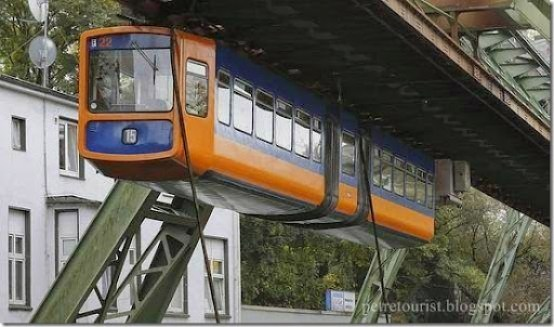 The Car is Out of Fashion - Suspended Tram
