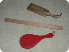 paddles - ours
