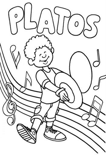 Dibujos Musicales Para Colorear E Imprimir Stunning