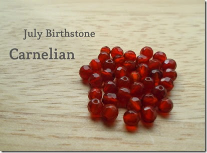 Carnelian July Birthstone