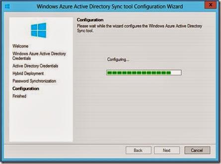 Windows Azure Active Directory Sync tool (DIRSYNC) – the