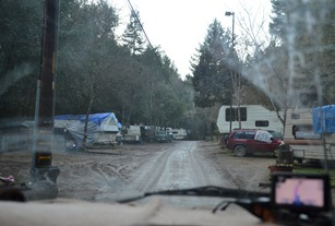 Creekside Cabins and RV Park, what it really looks like