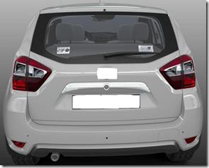 Nissan-Duster-version-rear