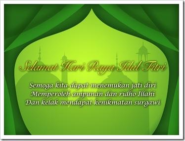 Kerozzi Ucapan Selamat Lebaran Hari Raya Idul Fitri