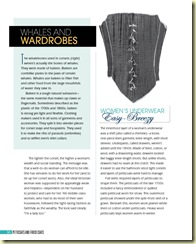 Petticoats corset