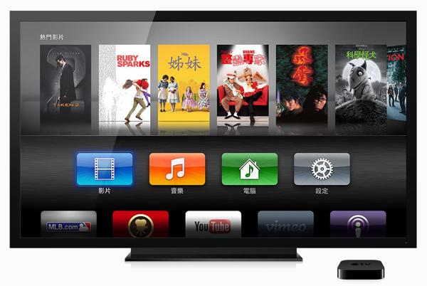 AppleTV觀看影片