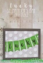 The Happy Scraps - Lucky Printable