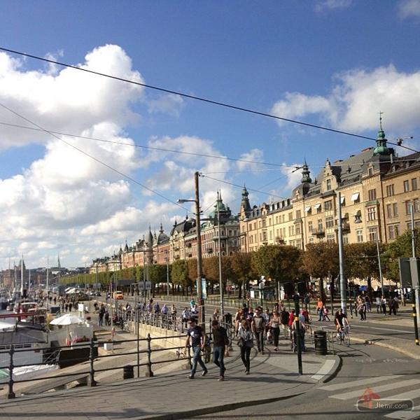 瑞典市區街景