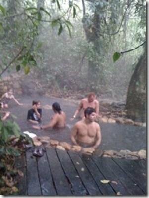 Aguas Termales Copan Honduras hot springs