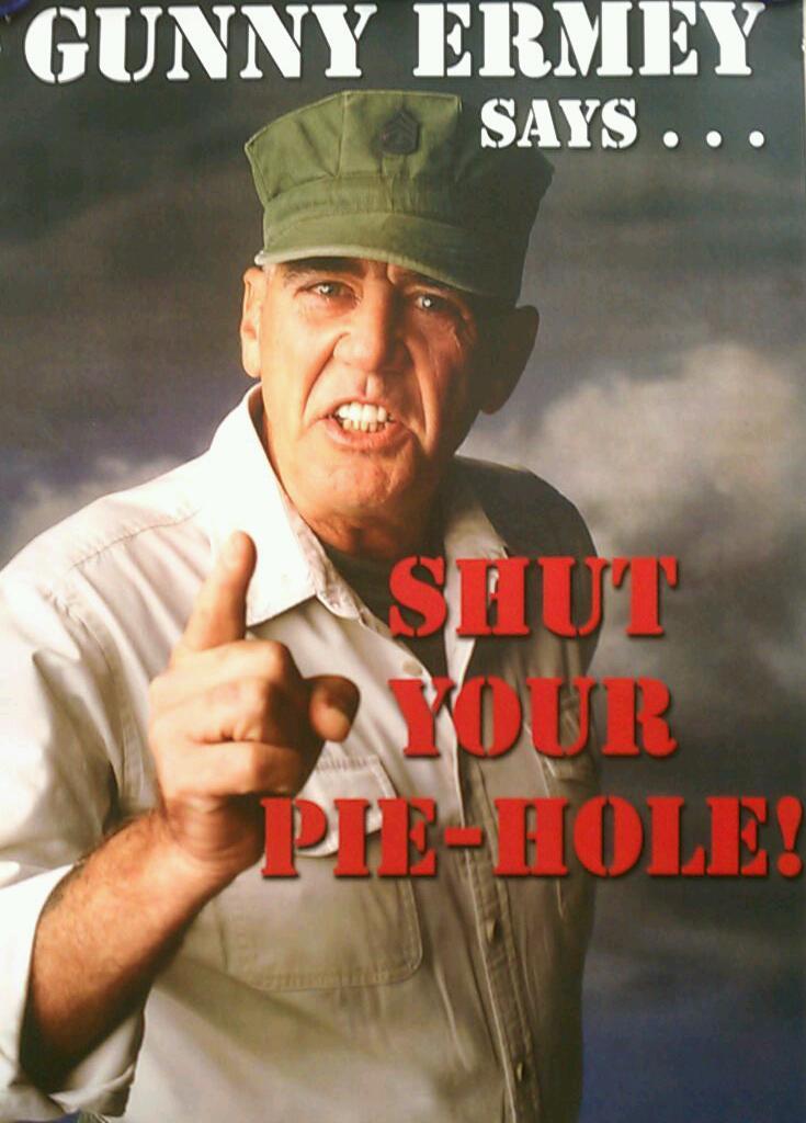 Shut Your Pie Hole!