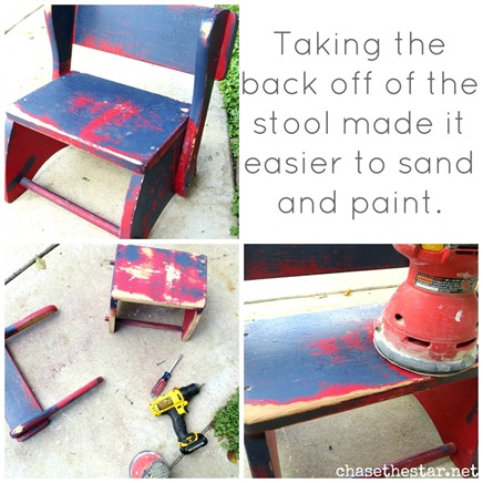 upcycle kid's stool