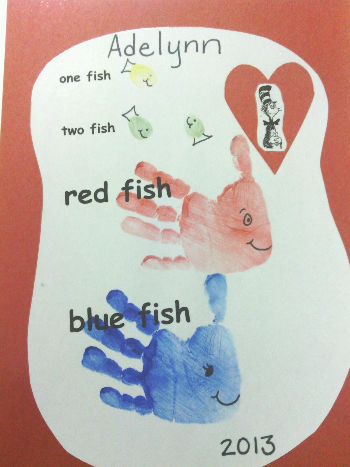 3 Year Old Fun 1 Fish 2 Fish Red Fish Blue Fish