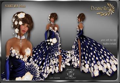 DANIELLE Sakura Blue