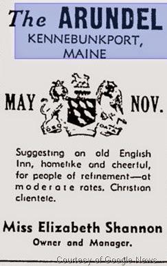 The Arundel - Montreal Gazette 1939 Advertisement
