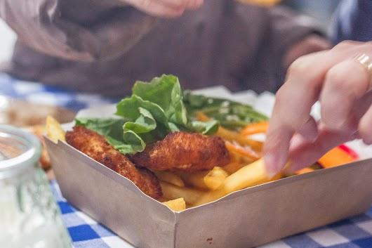 Fish n' chips hos Copenhagen Street Food - Mikkel Baekgaards Madblog
