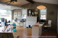 BEFORE & AFTER: converting our garage into an office ...