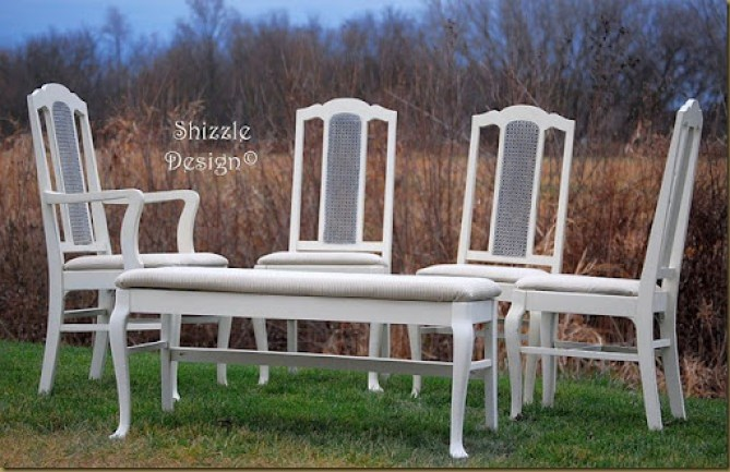 Dining Room table and chair set, chairs only 1rc
