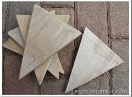 pallet wood pennants