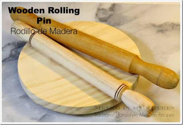 rolling pin, rodillo de madera