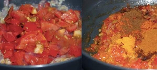 Cauliflower Potato Fry step2