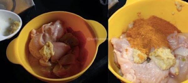 Chicken Tikka step2