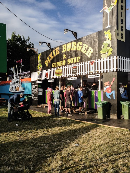 Dixie Burger Roskilde Festival 2013 - Mikkel Bækgaards Madblog