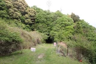 旧近鉄大阪線総谷トンネル下り側