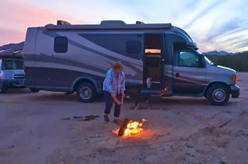 sunset at Buckeye Hills Arizona