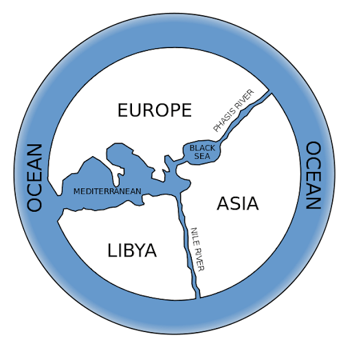 Anaximander_world_map