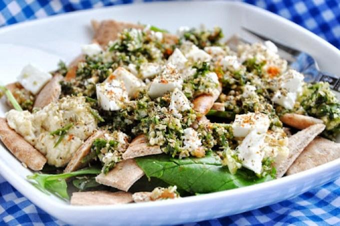 greek pita salad (10)