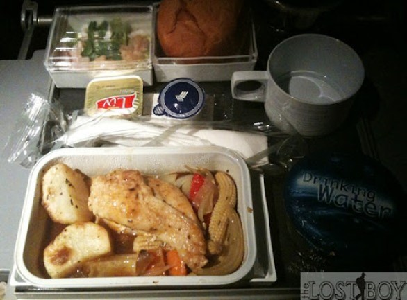 singapore airlines western meal