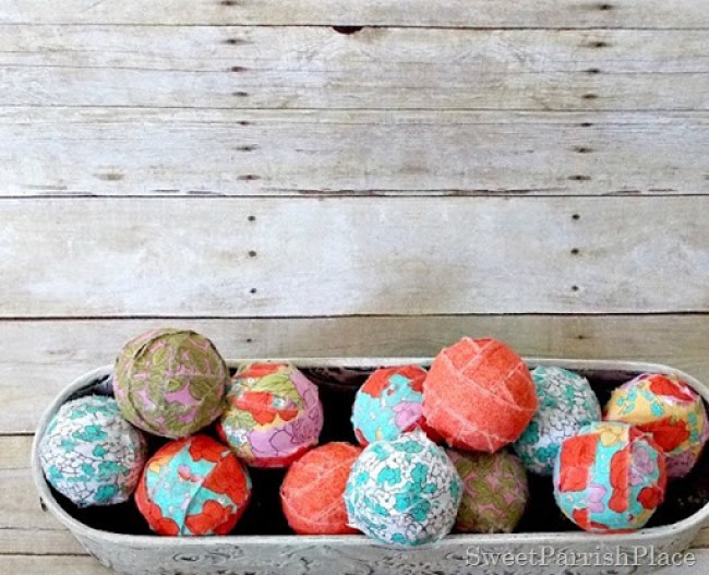 Fabric Covered Balls5