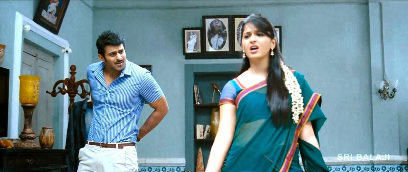 Telugu Movie Wallpapers With Quotes Prabhas Amp Anushka Comedy Scene Snaps Prabhas Pix