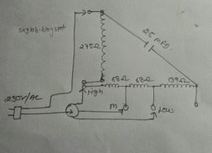 ELECTRIC & ELECTRONICS PROJECT: Orient wall fan winding data