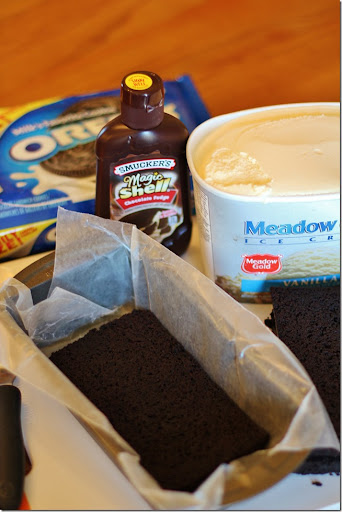 Cookies N Cream Ice Cream Cake -Stuff