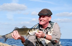 Bass fishing Wexford