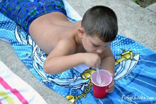 Capri Sun Slush - An easy slush for the kids on a hot summer day!