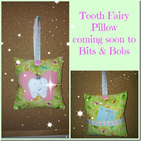 tooth fairy pillow Collage