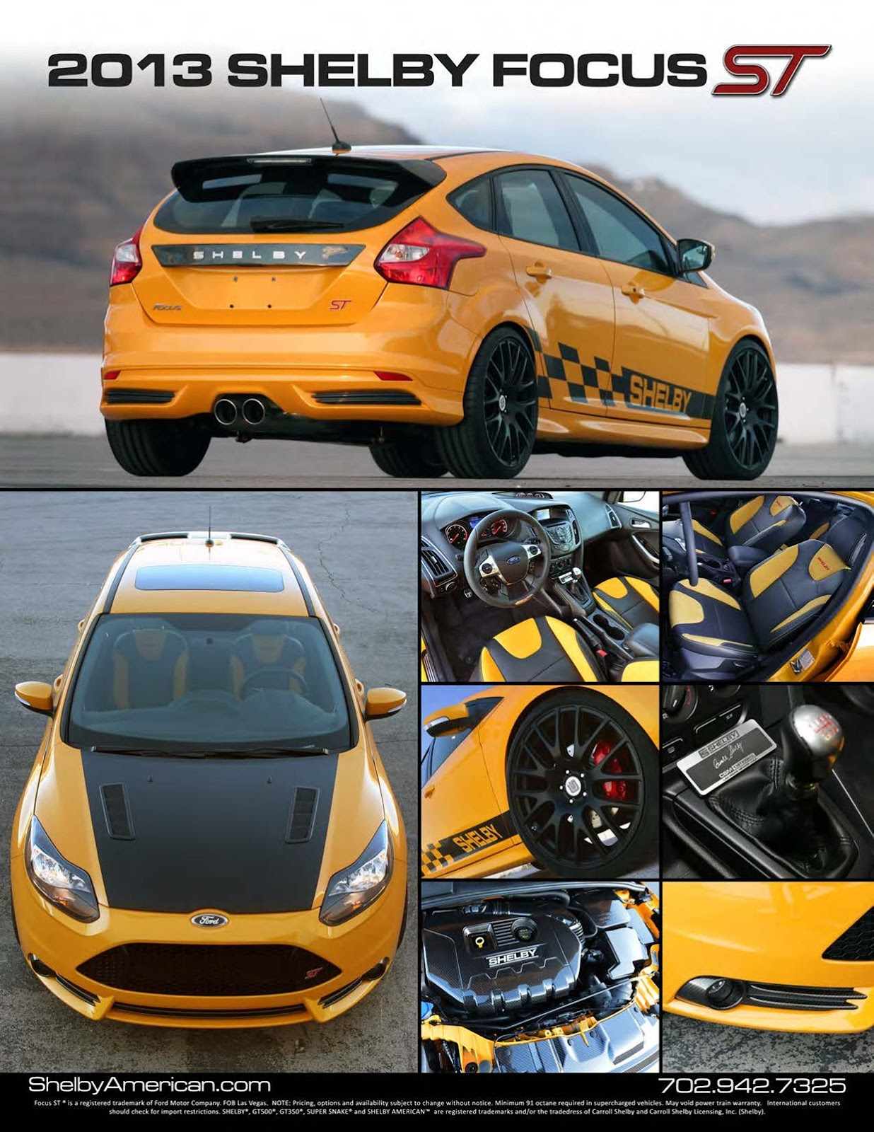 Ford Focus Rs Wide Body Kit : focus, Shelby, Unveils, Tuned, Focus, Widebody, GT500, Super, Snake, NASIOC